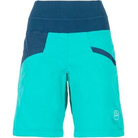 La Sportiva Ramp korte broek Dames blauw/turquoise